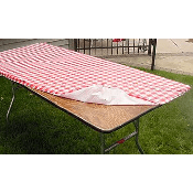 30in x 8' Kwikcover Table Cover