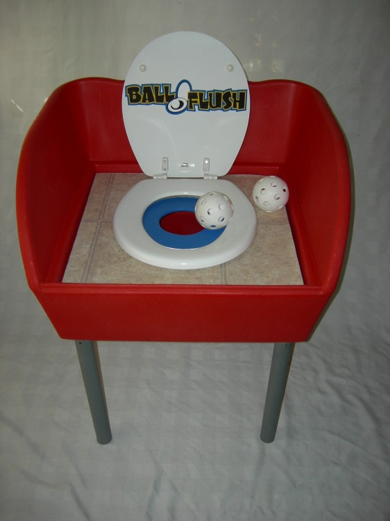 Ball Flush Midway Game