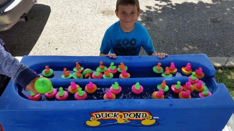 Duck Pond Midway Game