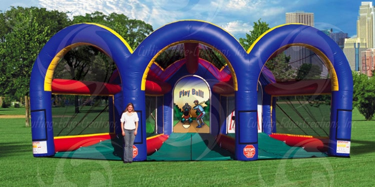 Triple Play Sports Cage