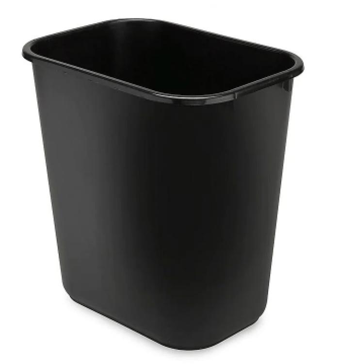 Trash Can Small - Black