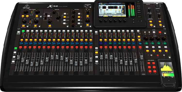 32 Channel Digital Sound Board w/wifi