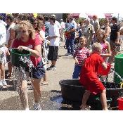 Leaky Water Bucket Race
