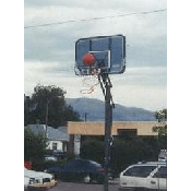 Three Point Shoot Out - Basketball Hoop