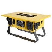 Spider Box 6 - 20amp circuits