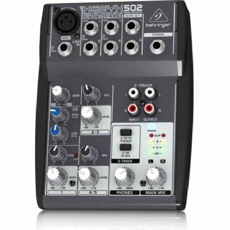 5 Channel Mixer