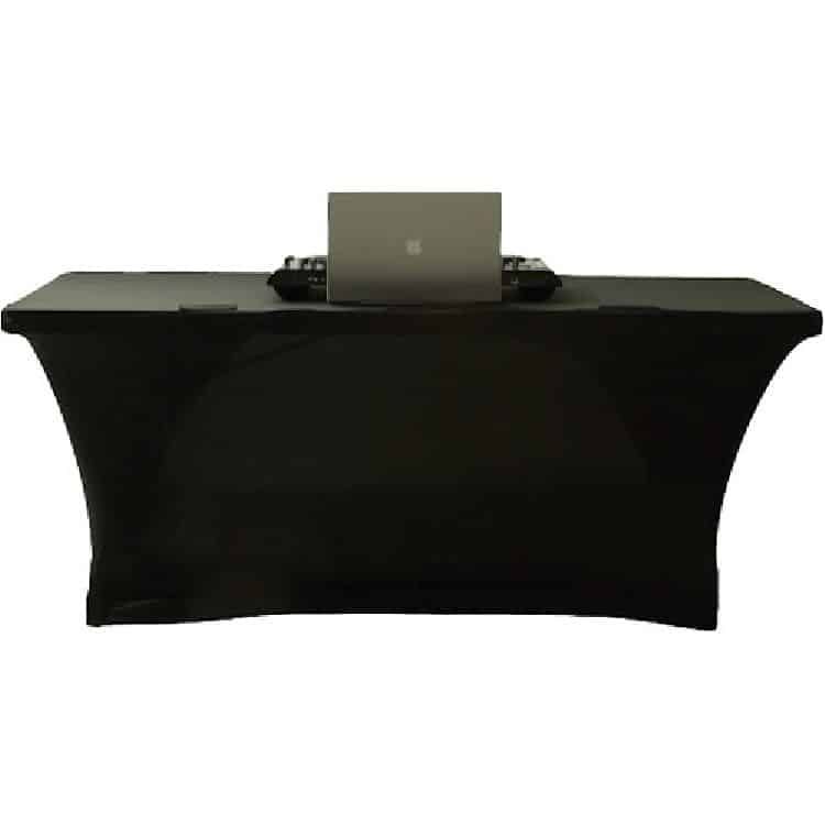 Scrim - 6' Table Black