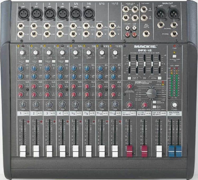 12 Channel Sound Board