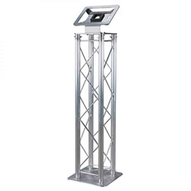 Kiosk iPad Mount-Aluminum Truss