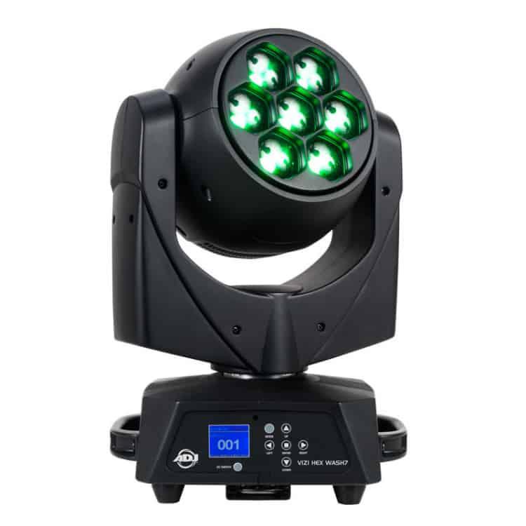Moving Head Wash 105W LED Vizi Hex