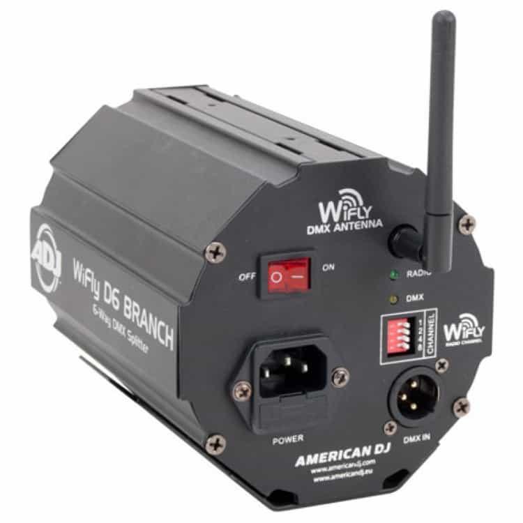 DMX Splitter w/wireless WiFly