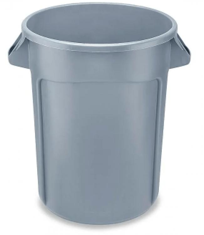 Trash Can Large - Black 40 gal.