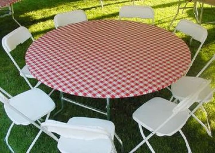 60in Kwikcover Round Table Cover