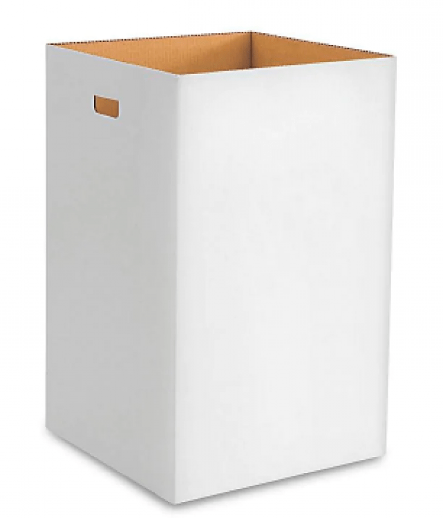 Trash Can Cardboard - Rental, bags not included