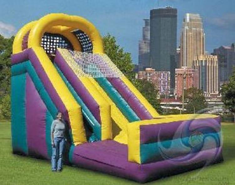 Mini Deluxe Slide 18ft tall (Dry)