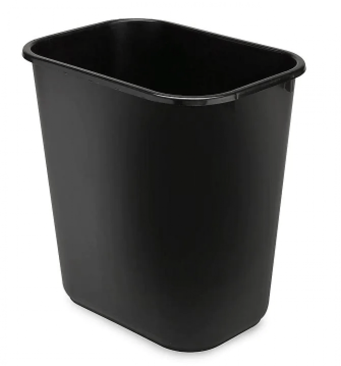 Trash Can Small - Black