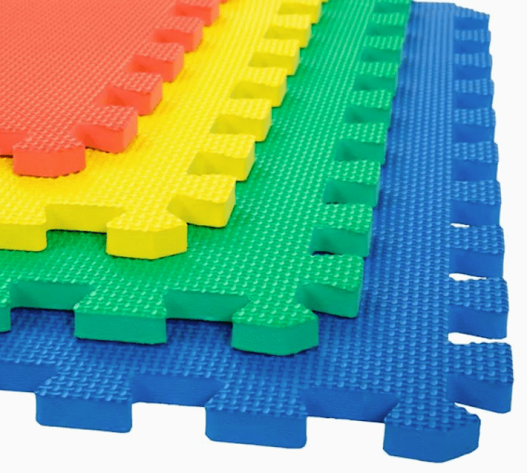 Soft Tile Foam Mats (set)