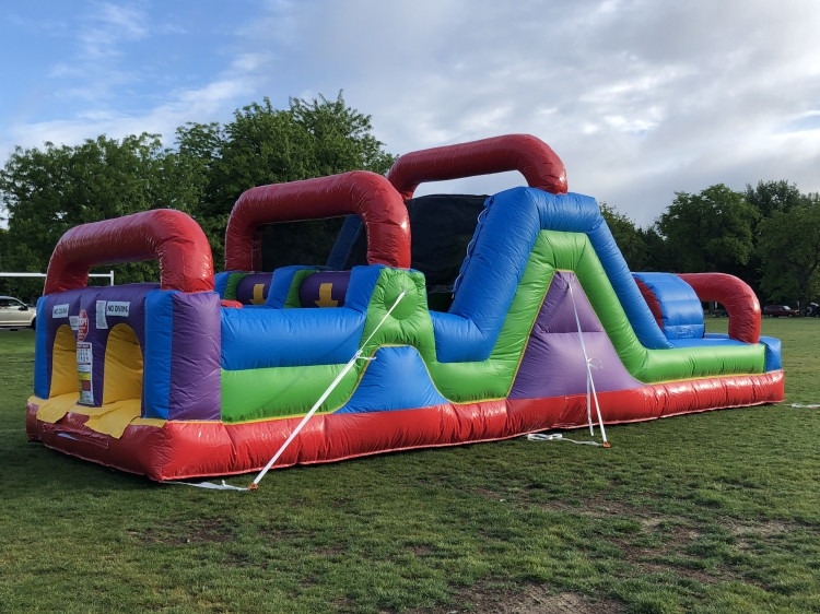 Wacky Mini Obstacle Course