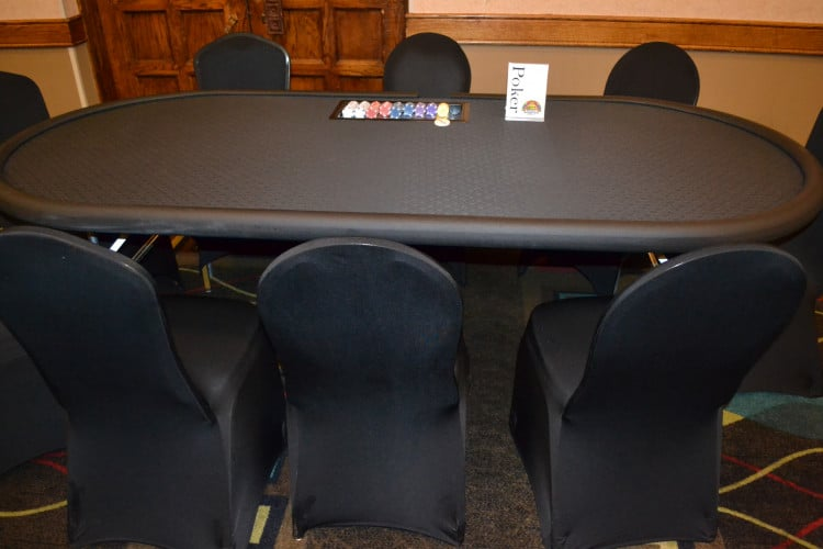 Poker Table w/ Dealer