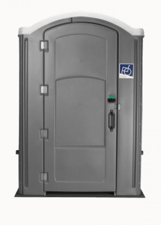 Portable Restroom Handicap-Accessible Unit