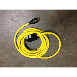 25' GFI Outlet Cable 2 additional 20amp circuits