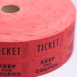 Ticket - Double Raffle 2000 roll
