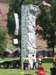 Climbing Wall w/ 2 Operators
