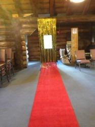 Red Carpet Aisle Runner 50ftx24inch