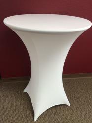 Scrim - Cocktail Table White