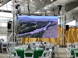 16'x9' LED Video Wall and Video Tech