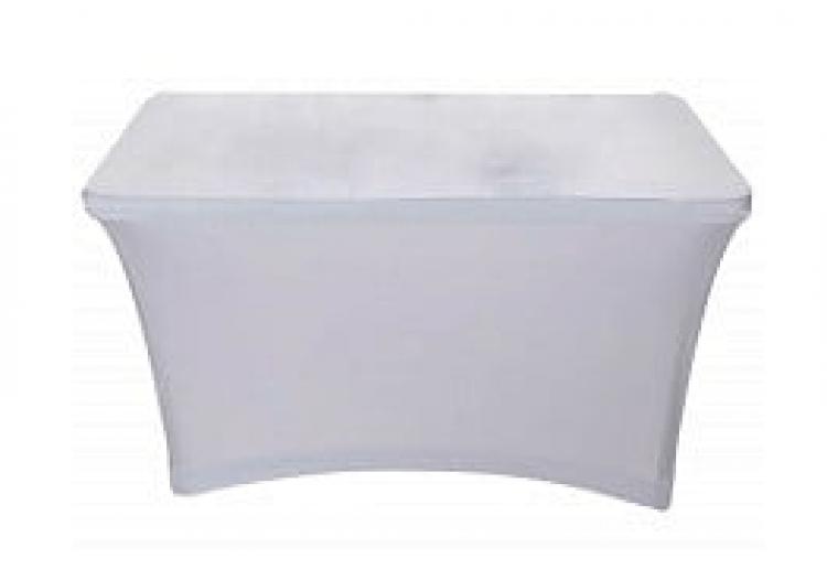 Scrim - 4' Table White